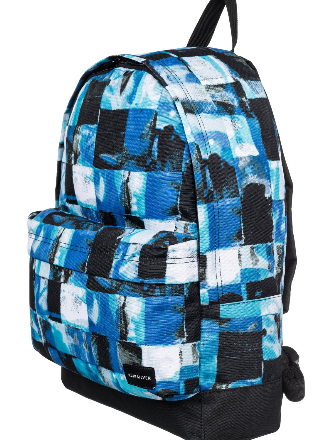 Sac à dos Quiksilver Everyday Poster Turkish Sea Resin Check bleu 5TeYen