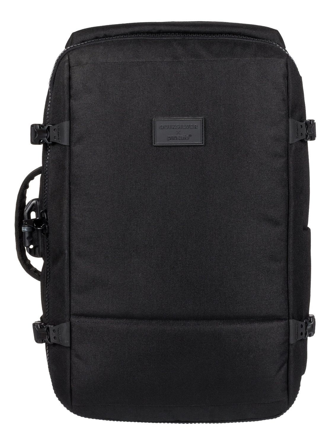 0 Pacsafe X Qs 40l Anti Theft Carry On Backpack Black Eqybp03509 Quiksilver