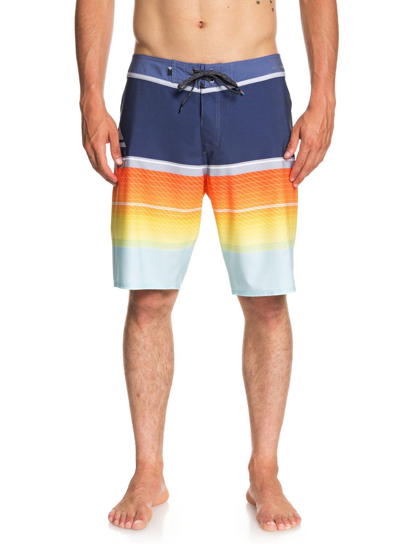 Homme EQYBS03858 Boardshort Bleu Slab pour 20 Highline 0 Quiksilver 6XCnqBC