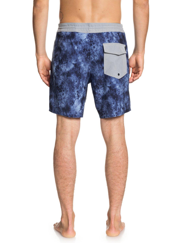 Quiksilver Azul de EQYBS04023 Baja 2 cortos Acid Pantalones para 18 playa Hombre ZfwqP6