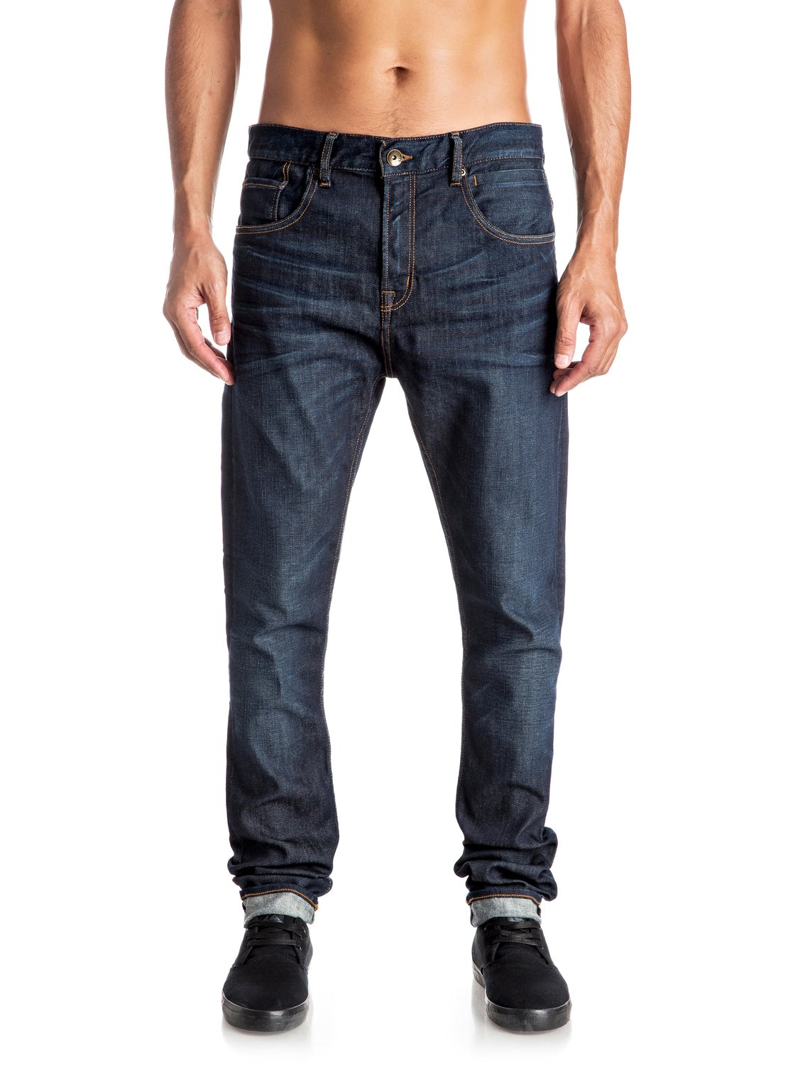 8ee86450a87bc6 0 Low Bridge Icy Blue - Skinny Jeans Blue EQYDP03295 Quiksilver