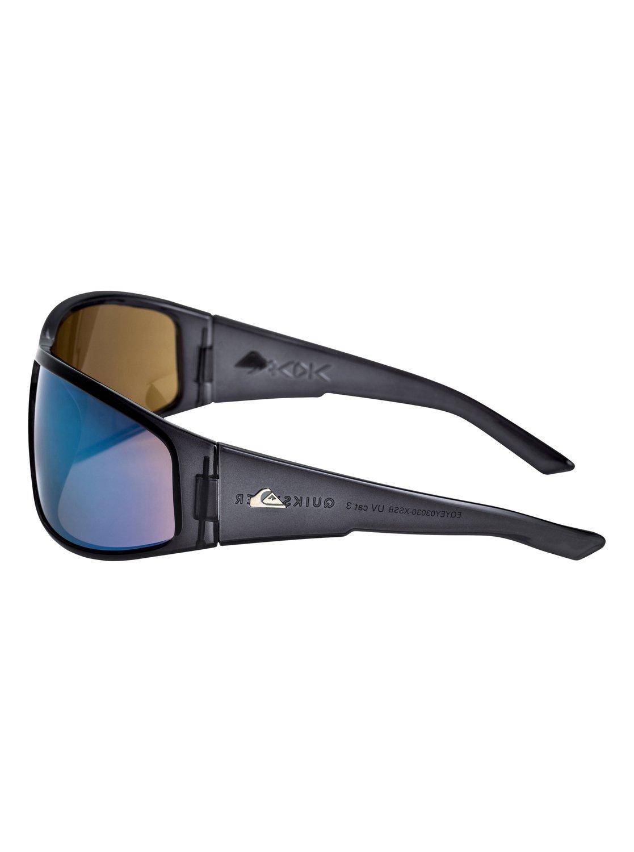 Quiksilver Sonnenbrille »AKDK«, grau, smoke/flash blue