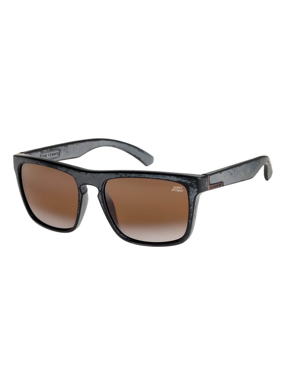 1916b214548c4 0 The Ferris Dark Rituals - Sunglasses for Men Black EQYEY03045 Quiksilver