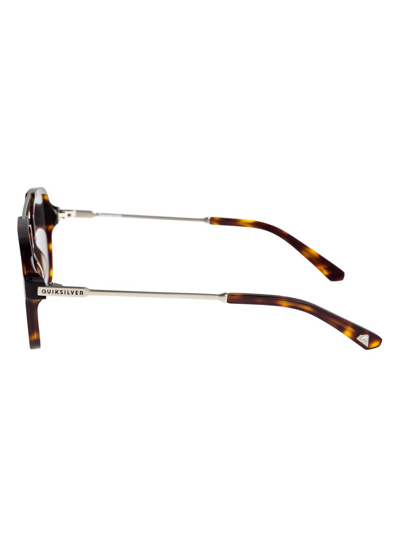 Quiksilver Sonnenbrille »Desperado«, braun, tortoise-silver/green