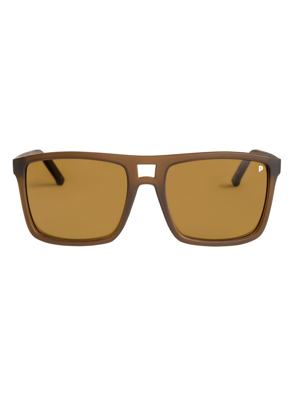 Quiksilver Sonnenbrille »Brigade Polarised«, rosa, brown/mineral gl