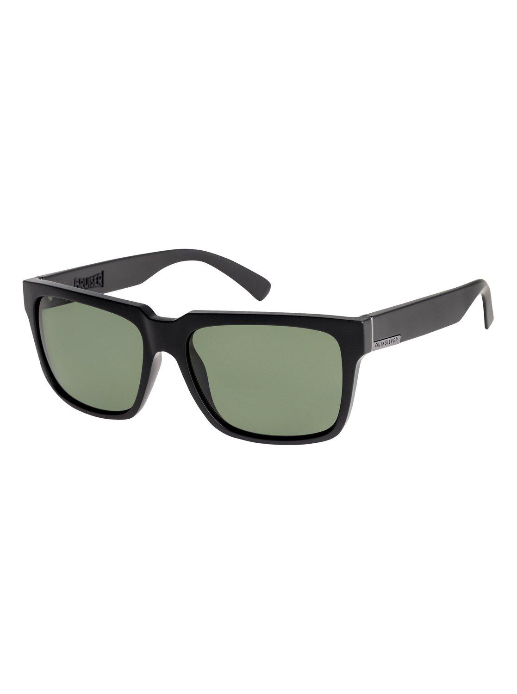 75843dc3865 0 Bruiser Polarised - Sunglasses for Men Black EQYEY03076 Quiksilver