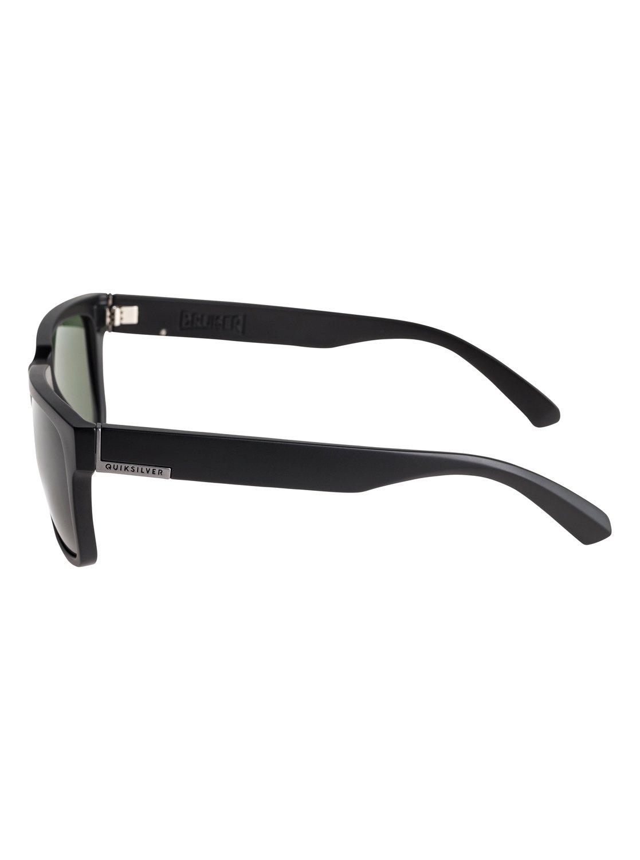 68d0aa531c6 2 Bruiser Polarised - Sunglasses for Men Black EQYEY03076 Quiksilver