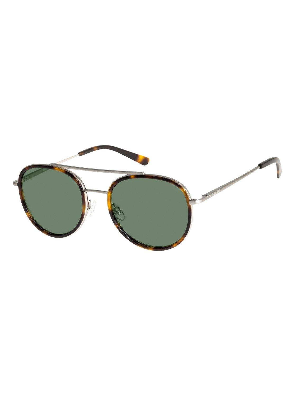 Quiksilver Sonnenbrille »Collysey«, braun, tortoise-silver/green