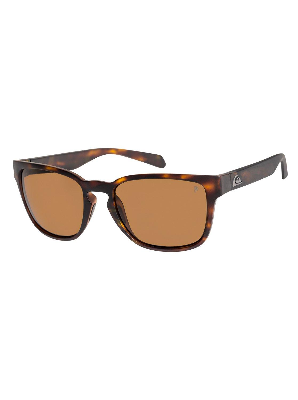 Quiksilver Sonnenbrille »Rekiem Polarised«, rosa, brown hd polari