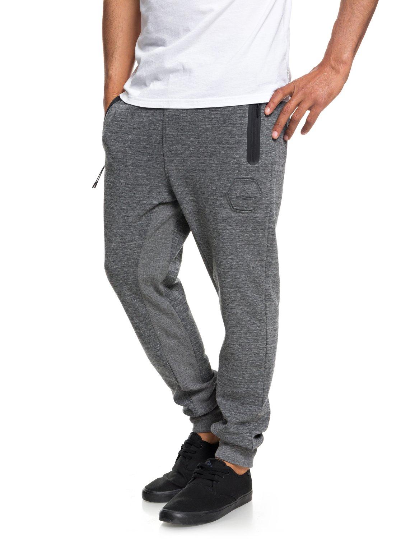 1 technique de Yattemi jogging EQYFB03155 Quiksilver Noir Pantalon Homme pour ZBfwZ