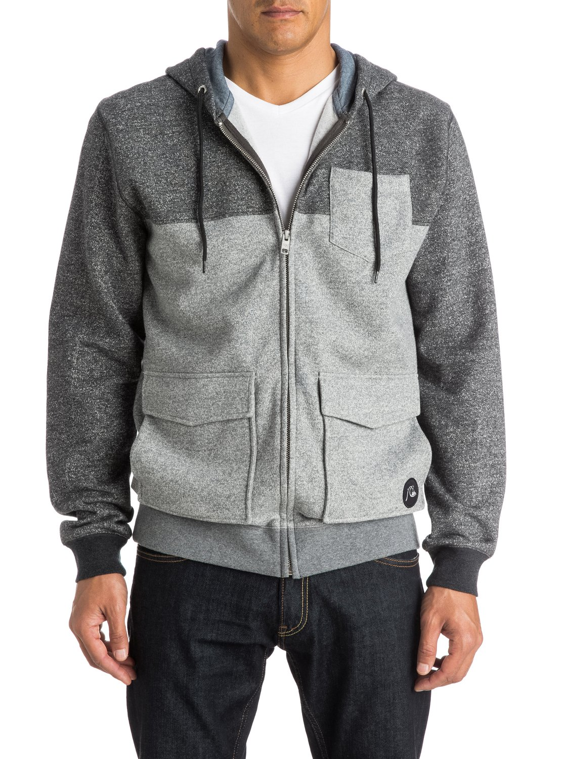 0 Dark Voices - Zip-Up Hoodie EQYFT03344 Quiksilver e51b7367510