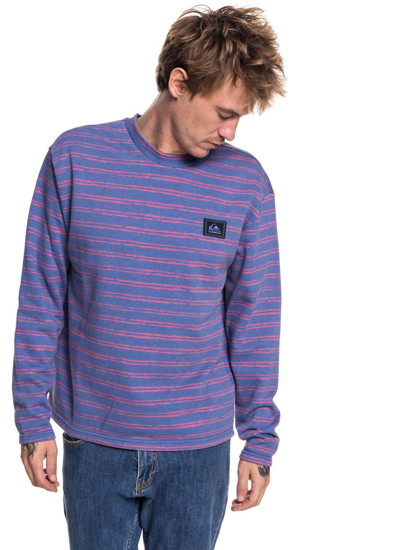 Propre Et Classique Coût De La Vente Early Faze - Sweatshirt pour Homme - Bleu - QuiksilverQuiksilver Des Prix Discount Pas Cher bTfOjVGOB