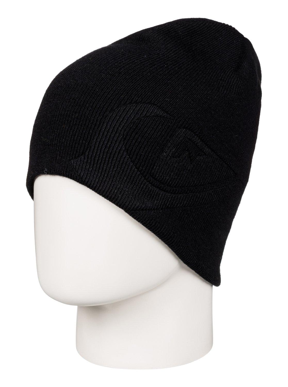 0f4bb4b76a5a8 ... new zealand quiksilver mens slouch 100 acrylic warm reversible beanie  hat ebay e25ff 653aa