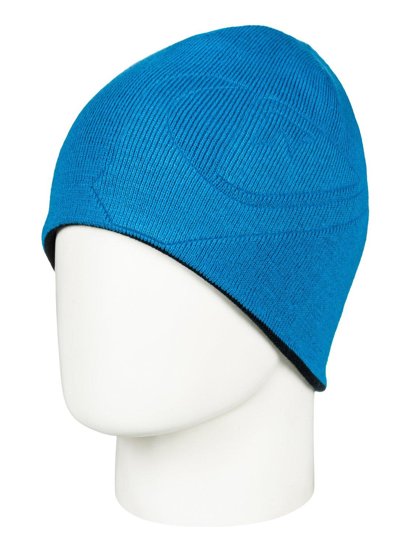 0 M W - Bonnet pour Homme Bleu EQYHA03163 Quiksilver 7775647aa3d