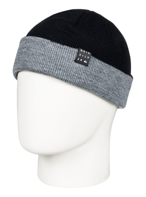 0 Snow Mystery - Bonnet pour Homme Noir EQYHA03168 Quiksilver b3e6ba585af