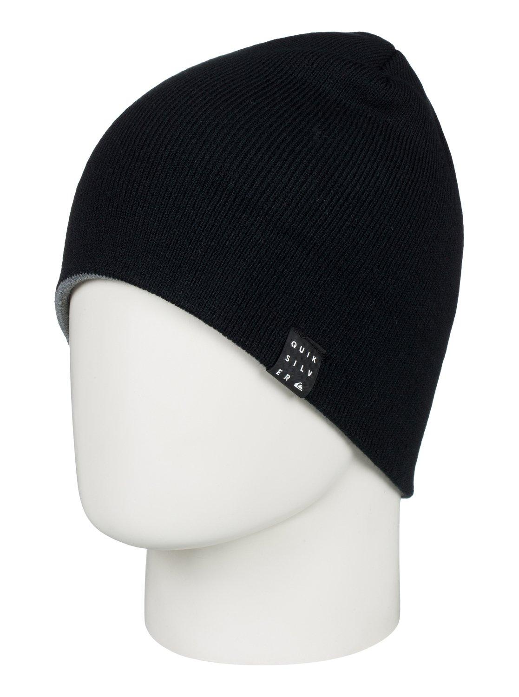 1 Snow Mystery - Bonnet pour Homme Noir EQYHA03168 Quiksilver 9378cc351a4