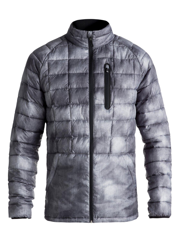 e2329bf3d4e92 7 Release - Veste zippée imperméable pour Homme Noir EQYJK03400 Quiksilver