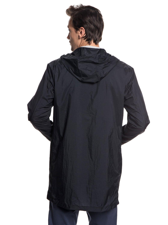 6 Qpak - Veste sportswear déperlante souple pour Homme Noir EQYJK03430  Quiksilver a1f3134dfe9
