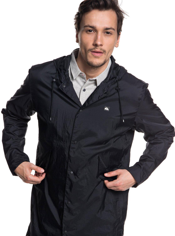 1 Qpak - Veste sportswear déperlante souple pour Homme Noir EQYJK03430  Quiksilver 3b2777676b7