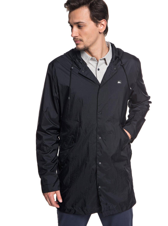 2 Qpak - Veste sportswear déperlante souple pour Homme Noir EQYJK03430  Quiksilver a67eae94a45