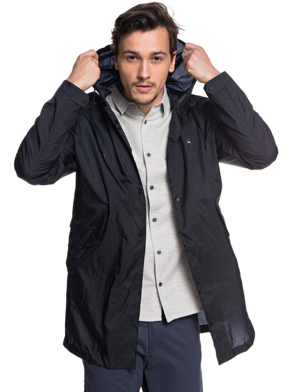 3 Qpak - Veste sportswear déperlante souple pour Homme Noir EQYJK03430  Quiksilver 7a8c231a5b6