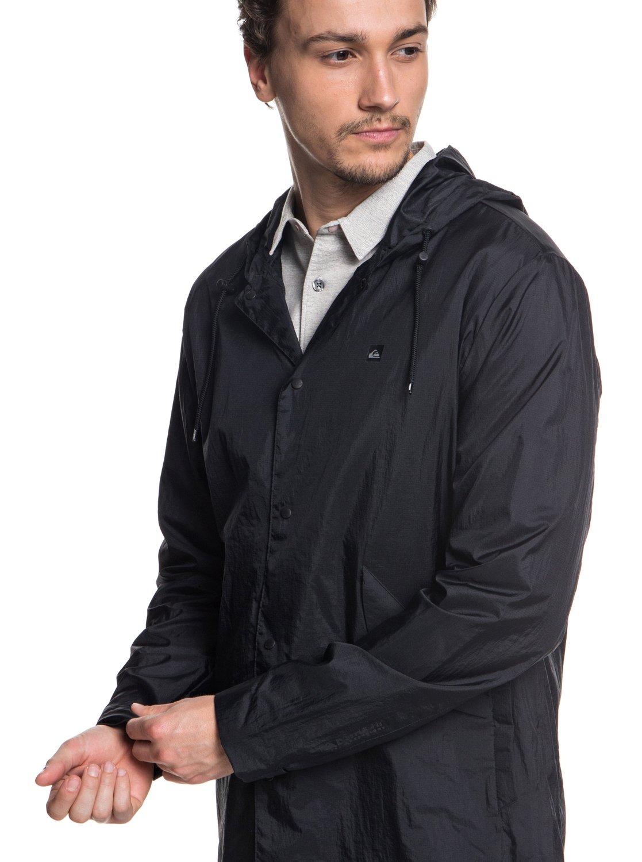 4 Qpak - Veste sportswear déperlante souple pour Homme Noir EQYJK03430  Quiksilver 90f30755190