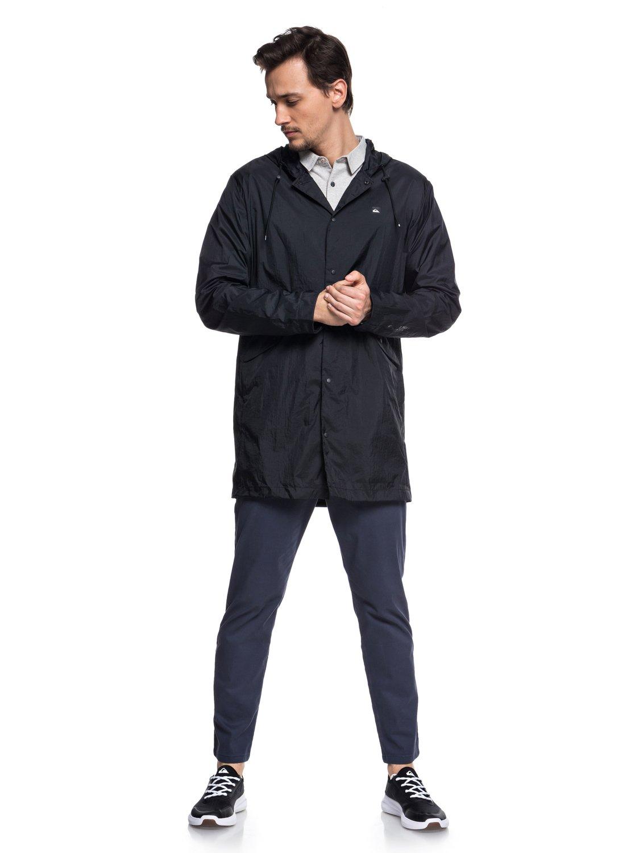 5 Qpak - Veste sportswear déperlante souple pour Homme Noir EQYJK03430  Quiksilver cac903e431e