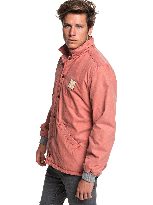 Kaimon - Veste inspiration sportswear pour Homme - Rouge - QuiksilverQuiksilver