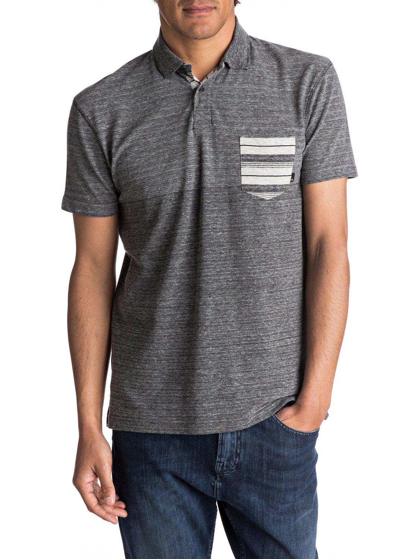 Quiksilver-Porcifix-Update-Polo-Shirt-Camiseta-Tipo-Polo-Hombre