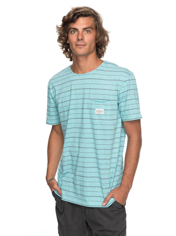 ff09ffff467f 0 Zermet - T-Shirt for Men Blue EQYKT03680 Quiksilver