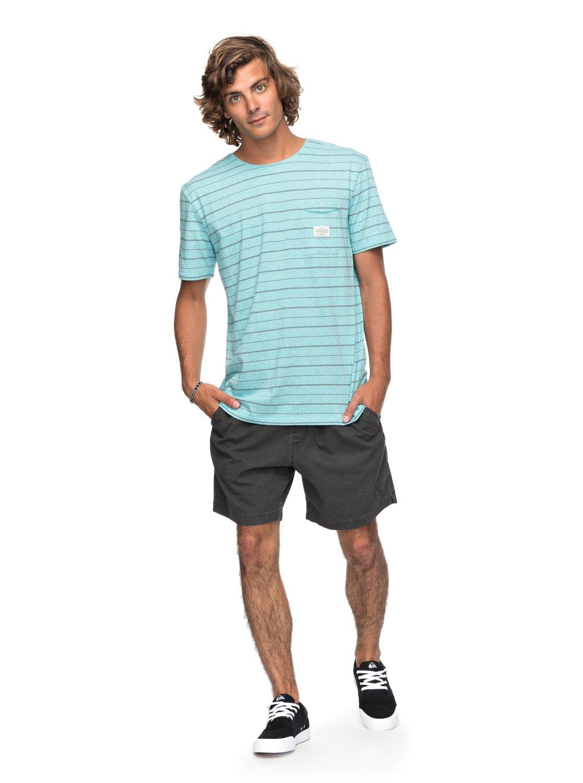 f5246b23e84c 1 Zermet - T-Shirt for Men Blue EQYKT03680 Quiksilver