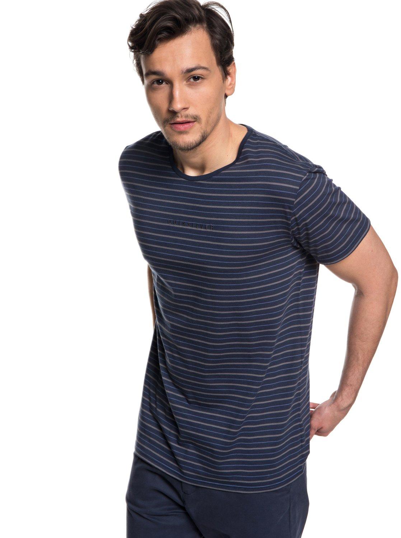 Koda Rocks - T-Shirt avec protection solaire UPF 30 pour Homme - Bleu - QuiksilverQuiksilver