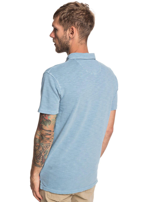 10e9537e29 4 Everyday Sun Cruise - Short Sleeve Polo Shirt for Men Blue EQYKT03784  Quiksilver
