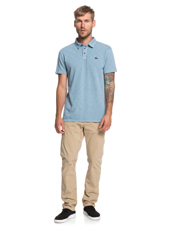c98e614de0 3 Everyday Sun Cruise - Short Sleeve Polo Shirt for Men Blue EQYKT03784  Quiksilver