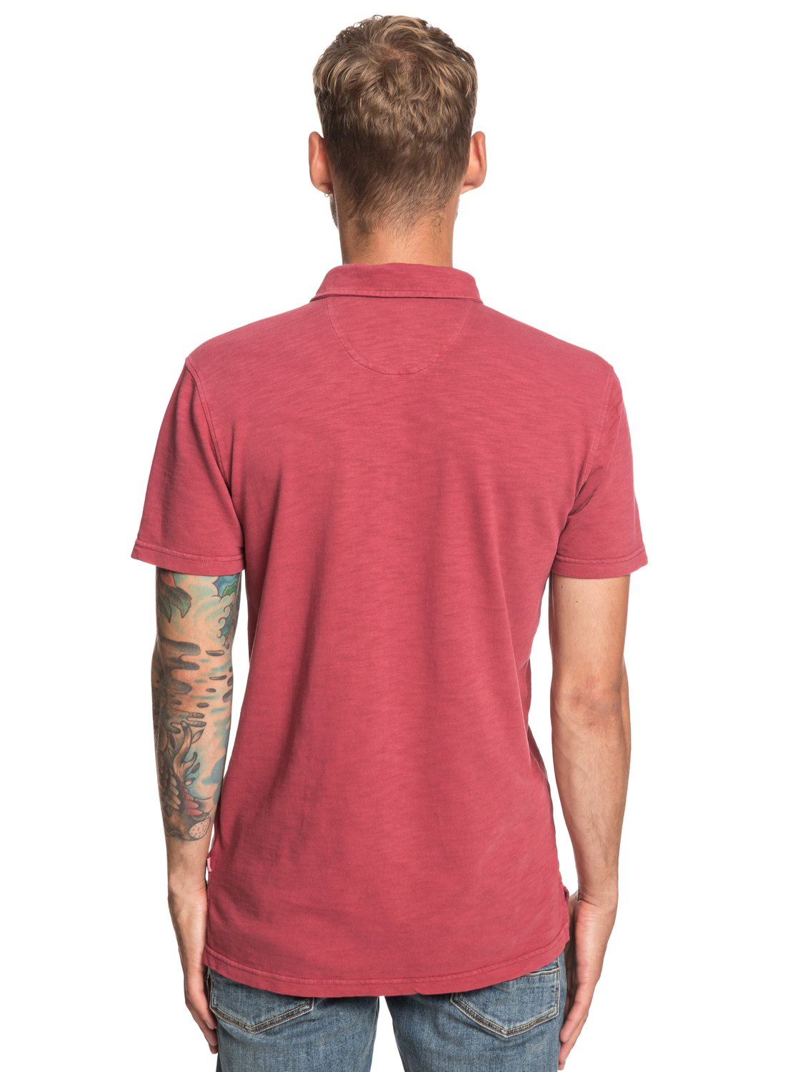 8d75c80ccc 4 Everyday Sun Cruise - Short Sleeve Polo Shirt for Men Red EQYKT03784  Quiksilver
