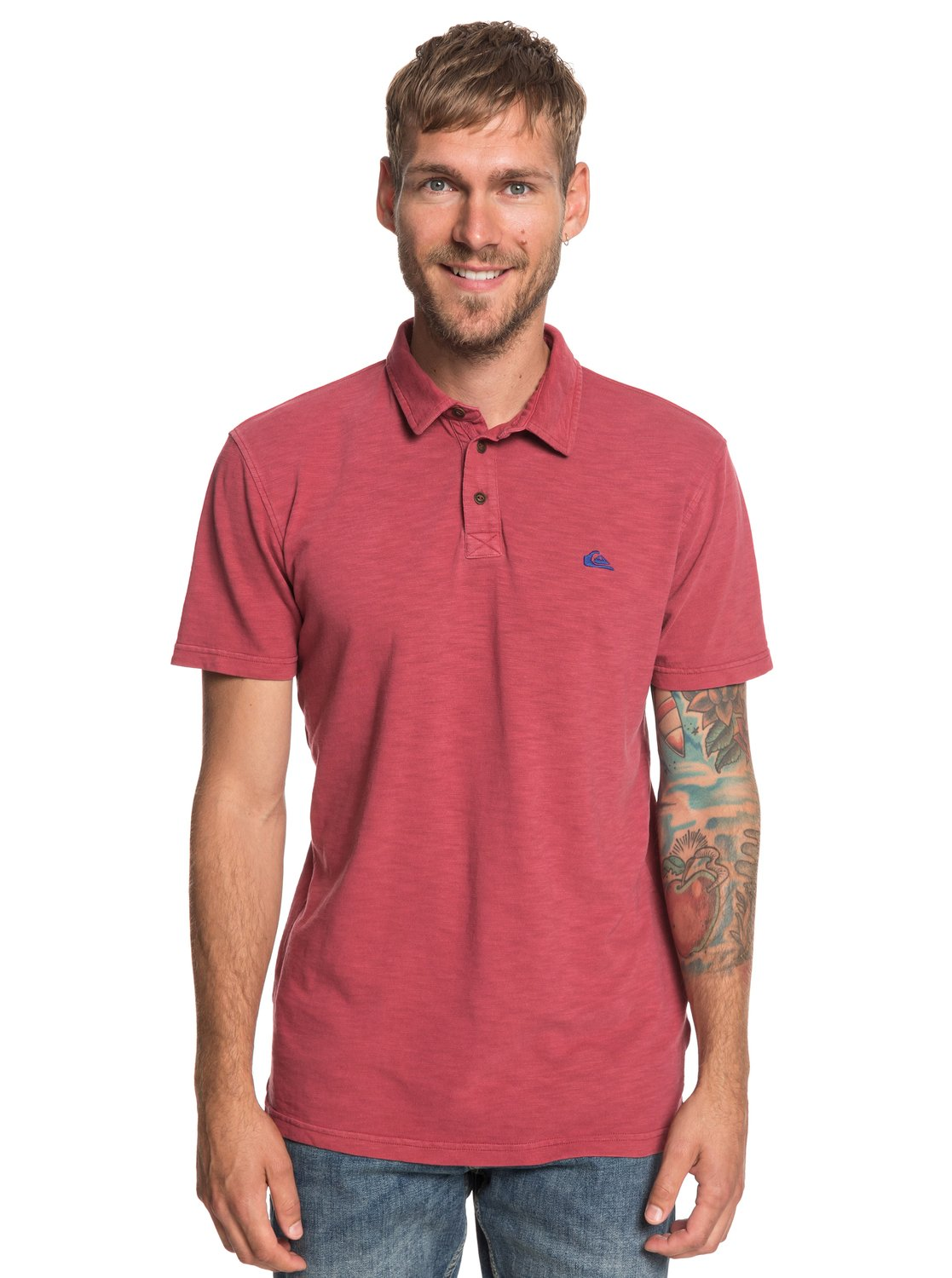 bc327512bc 0 Everyday Sun Cruise - Short Sleeve Polo Shirt for Men Red EQYKT03784  Quiksilver