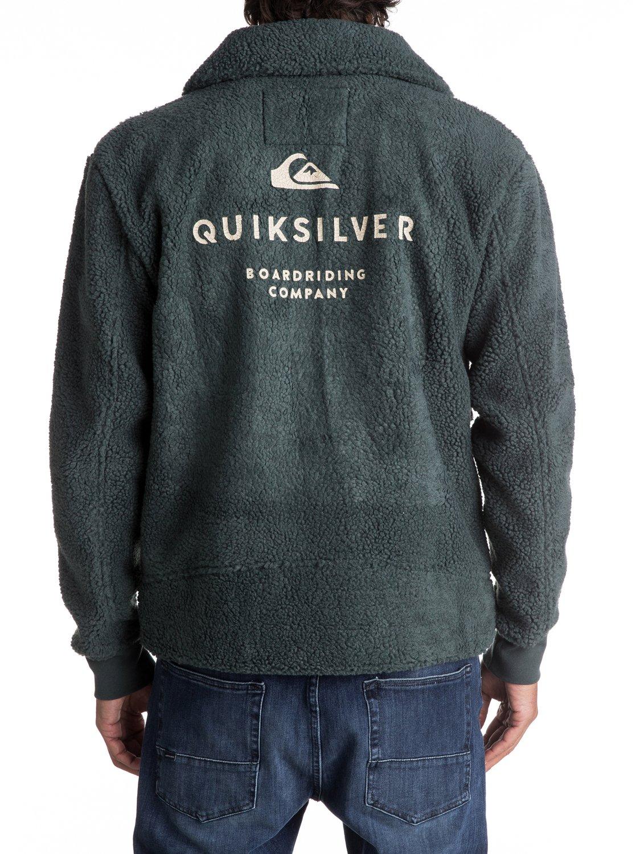 polar Ri Quiksilver para 2 Chaqueta EQYPF03023 Hombre de Sherpa forro Plain Kawa 1qxYwHg