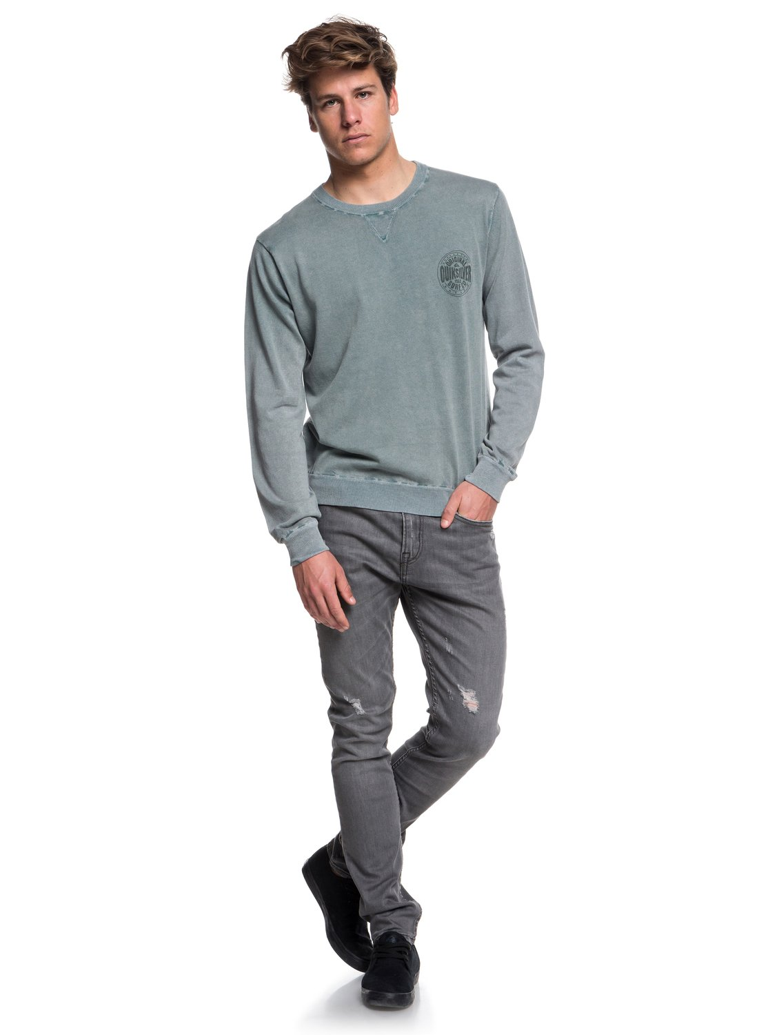 Pull Reef Quiksilver Pour 3613373810885 Col Homme Rond Miyako f5wBqUaq