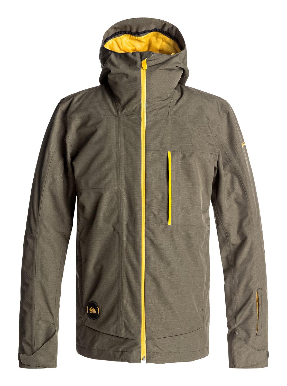 0 Сноубордическая куртка Sycamore Коричневый EQYTJ03120 Quiksilver 46efcf13066