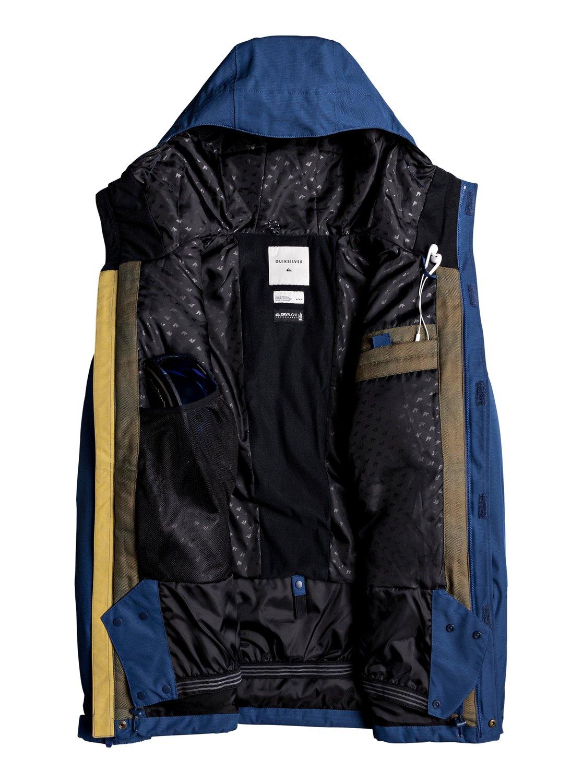 Raft Snow Jacket For Men Eqytj03125 Quiksilver