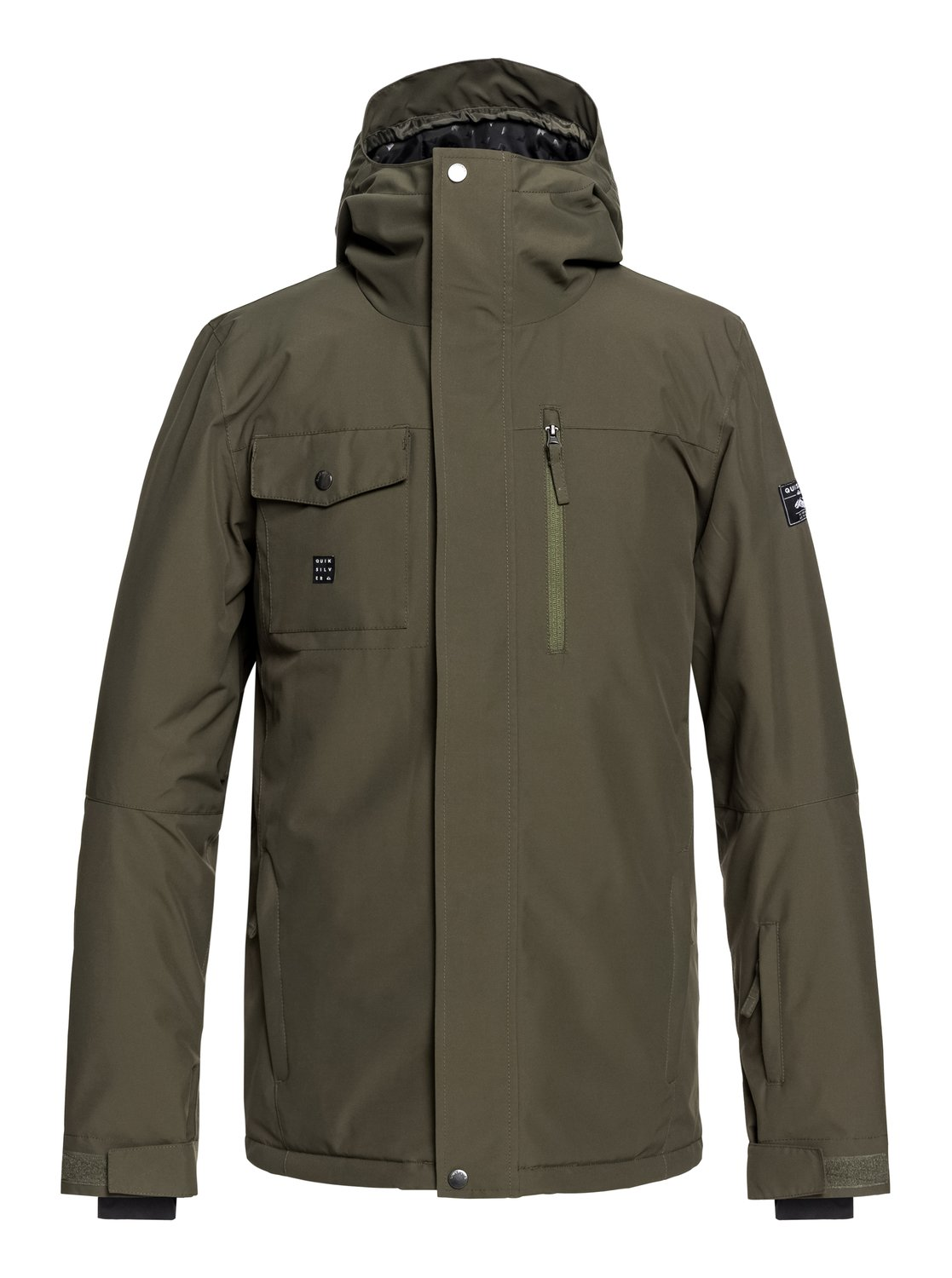 giacca snowboard uomo quiksilver mission solid jacket cre0
