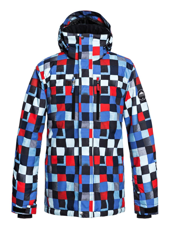0 Сноубордическая куртка Mission Синий EQYTJ03186 Quiksilver 2d264034ca5