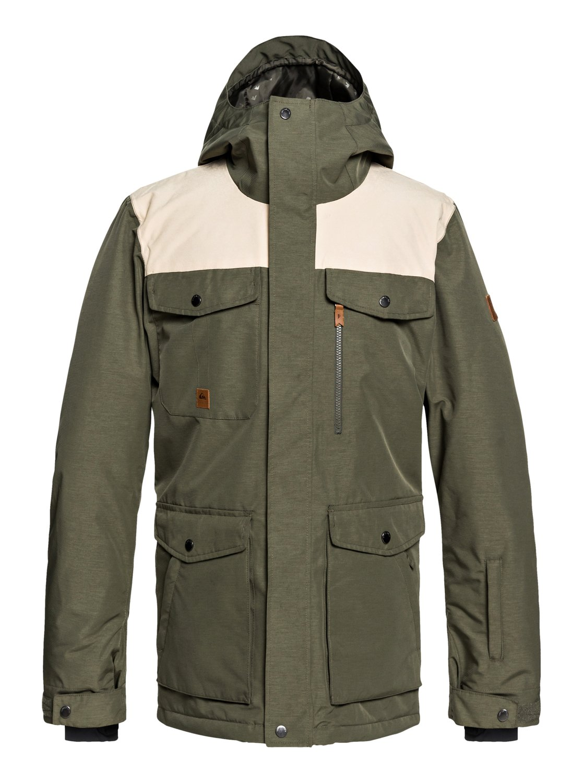 Raft Snow Jacket Eqytj03188 Quiksilver