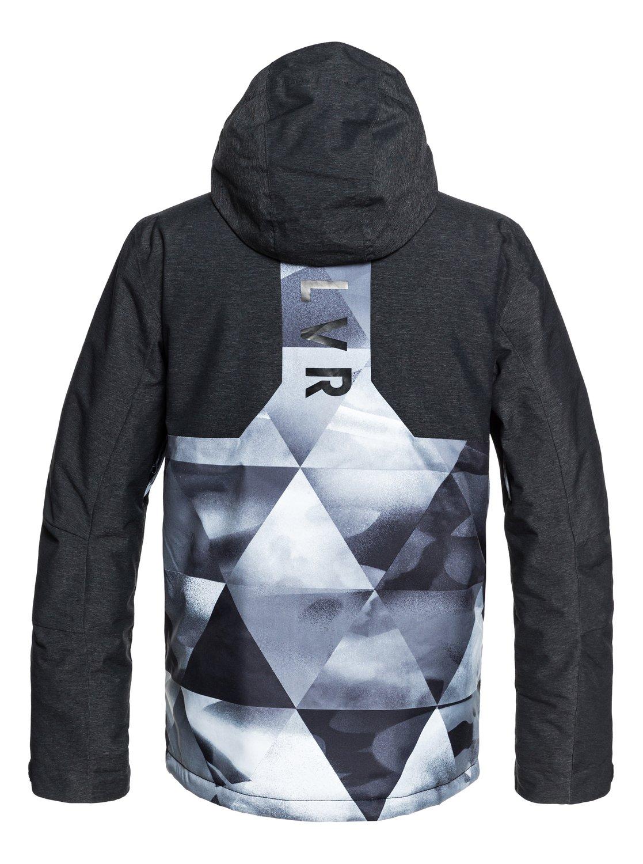 005ddb01b9996 1 Mission Plus - Snow Jacket for Men Black EQYTJ03189 Quiksilver