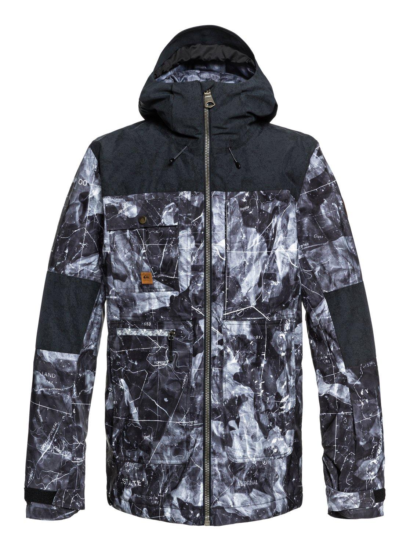 De Eqytj03191 Snow 0 Arrow Homme Veste Quiksilver Wood Noir Pour 8q6Zxta