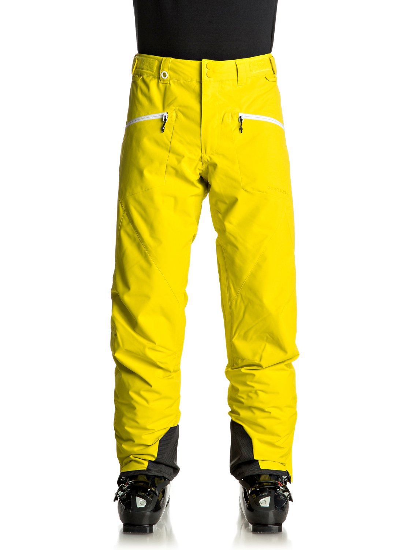 para Quiksilver Hombre Para EQYTP03065 Nieve Boundry Verde 0 Pantalones ICw7q11