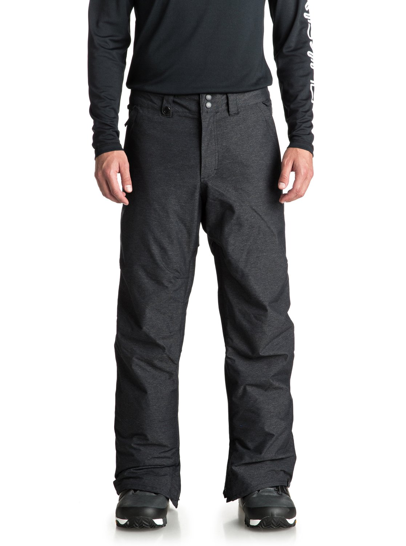 Estate Para Nieve Negro Hombre Quiksilver 0 para Pantalones EQYTP03105 wz64Ux