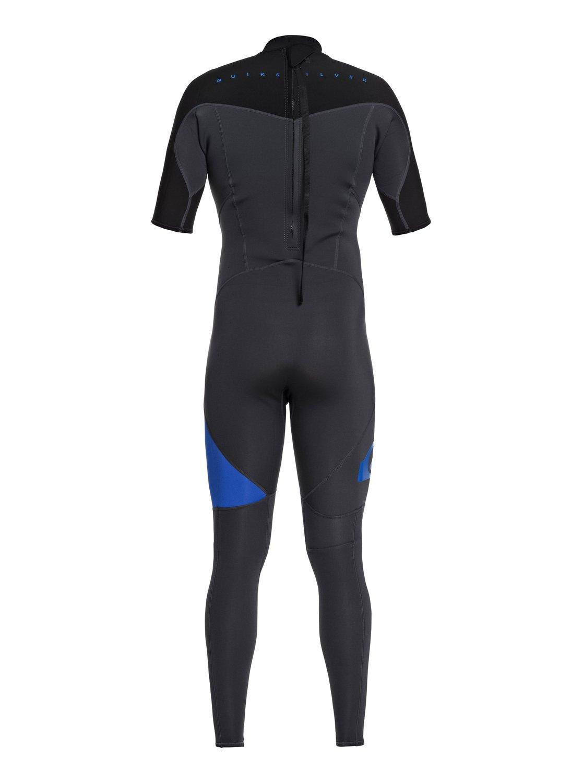 78463967a2 1 2 2mm Syncro Series Short Sleeve Back Zip Flt Springsuit Blue EQYW303005  Quiksilver