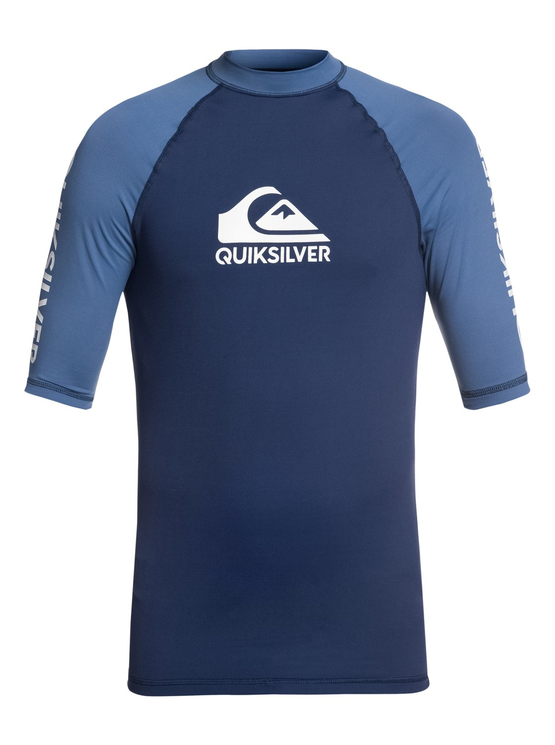 0a7a5dd67ed 0 On Tour - Short Sleeve UPF 50 Rash Vest for Men Blue EQYWR03110 Quiksilver