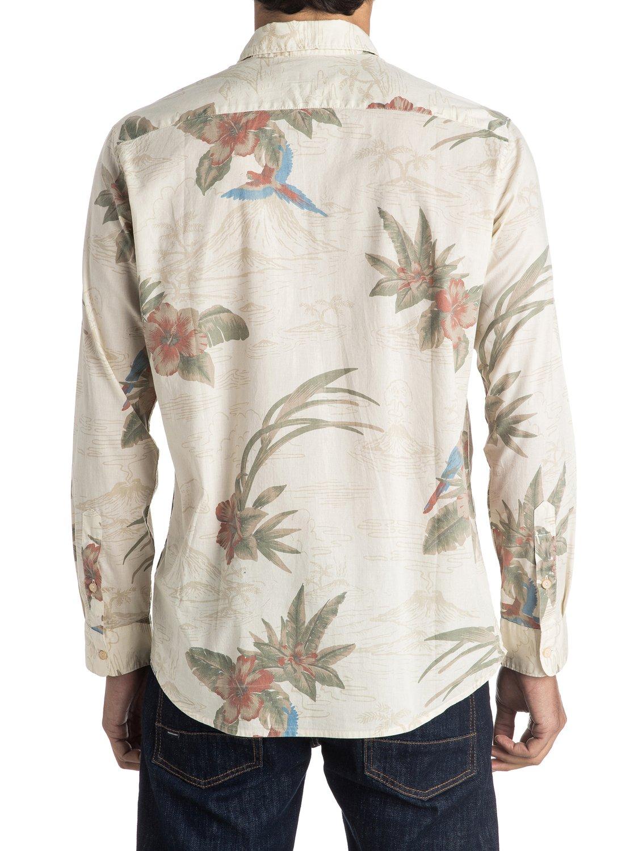 Quiksilver-Parrot-Jungle-Long-Sleeve-Shirt-Camisa-De-Manga-Larga-Hombre